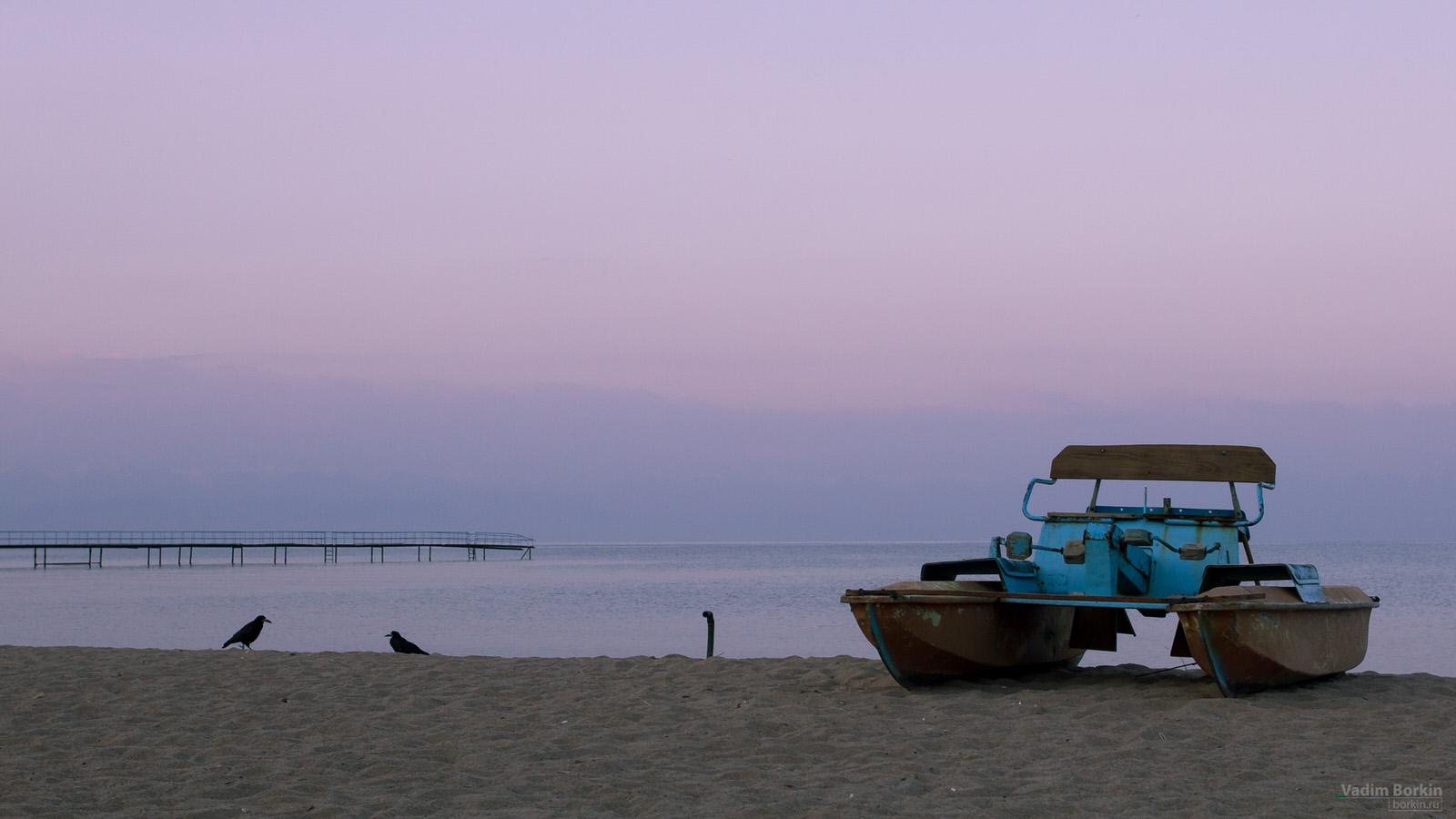 Фото Иссык-Куль на рассвете