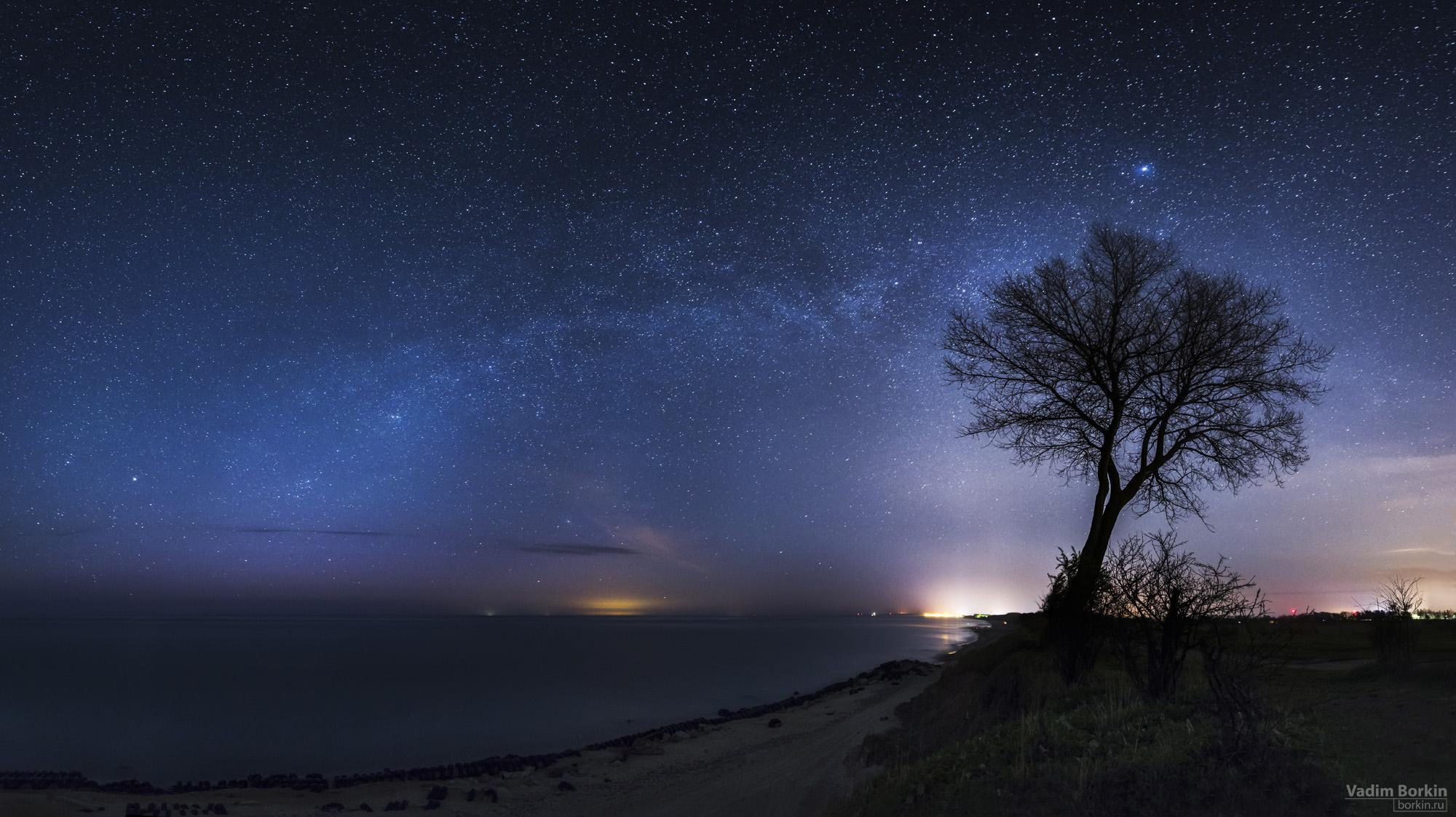 фото звезд над балтийским морем