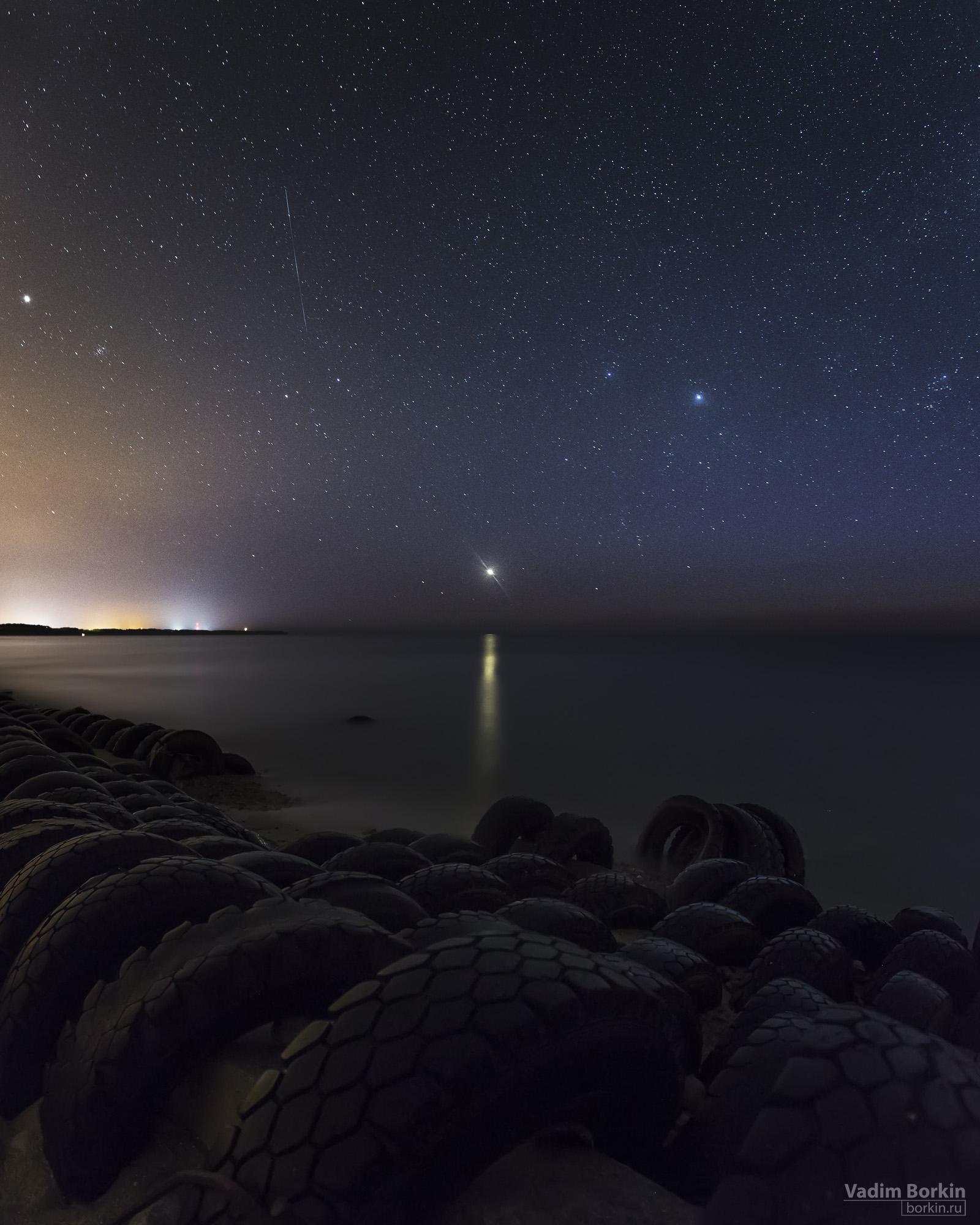 Закат Венеры, фото балтийского моря