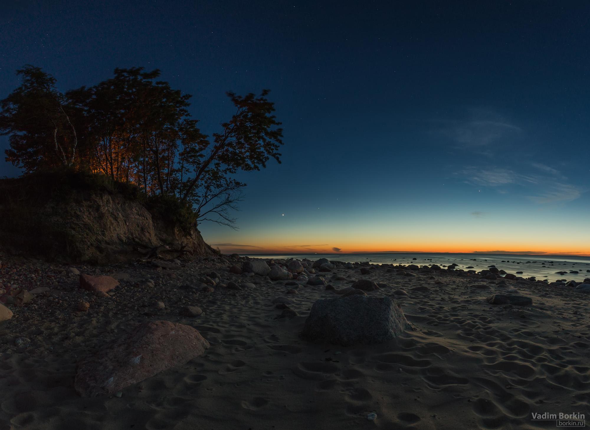 фото мыса, балтийское море