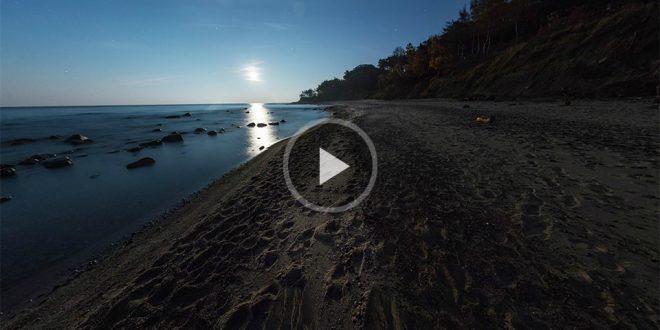 Виртуальный тур по ночному побережью
